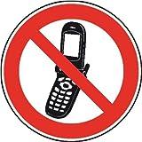 1253. Verbotsschild Foto-Handy benutzen verboten Weich-PVC-Folie, selbstklebend, bedruckt Größe 20,00 cm