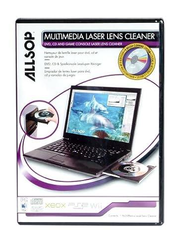 Allsop Multimedia Laser Lens Cleaner For DVD, CDs, Game Consoles & Laptops