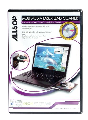 Allsop 05600 CD ROM Lens Cleaner Linsenreiniger Cd-rom Lens Cleaner