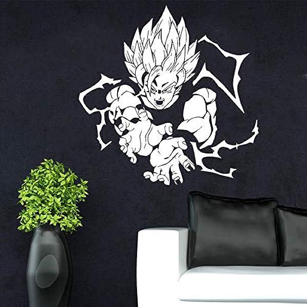 Dragonball Z T Vinyle Autocollant Mural Poster Fenêtre Majin Boo Anime Voiture Vélo Autocollant