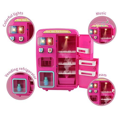Kinder Küche Spielzeug Verkauf Kühlschrank Mit Nebel Klingen Licht So tun als ob Elektrisch Kind Haus Eltern-Kind Interaktion Puzzle Ton und Simulation