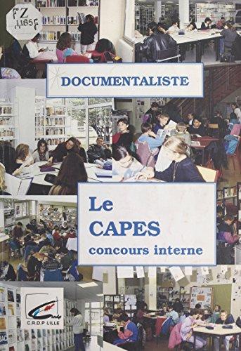 Documentaliste : le CAPES (concours interne)