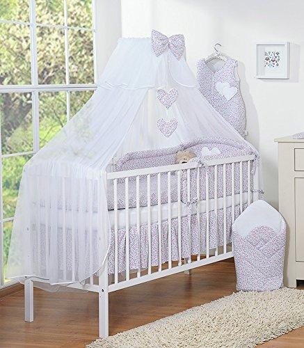 Dosel de cama infantil, diseño de Estatua de la Libertad con Mosquitera de color rosa con diseño de corazones