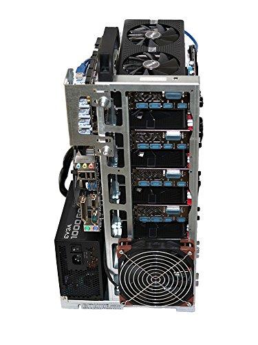 BITMINE.mn Mining RIG-V6 Coque Rig Open Air Cadre pour ETH/ETC/XMR/Zcash/Bitcoin Gold