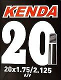 Kenda AV Fahrradschlauch, AV, grau, 20X1.75/2.0/2.125