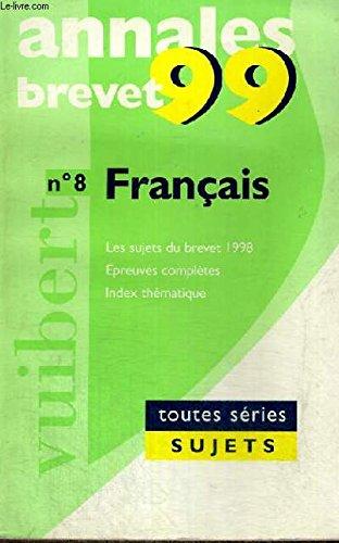 Annales 1998, français, bac, numéro 32, sujet