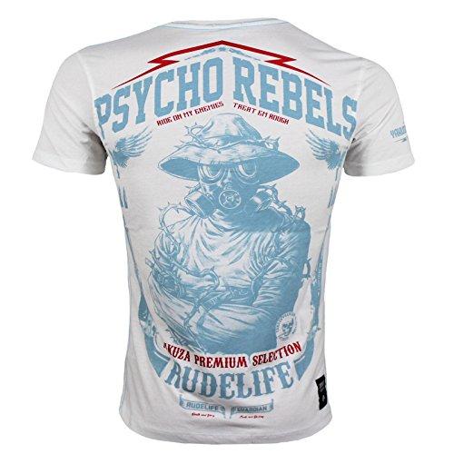 Yakuza Premium T-Shirt 2314 Weiß