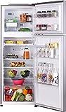 LG 335 L 3 Star Inverter Frost-Free Double-Door Refrigerator (GL-T372JPZU, Shiny Steel)