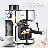 LinZX 5 Tazze di Latte Bureau 0.24L produttori Espresso Foam Macchina per Il caffè Macchina per Il caffè Italiano Stile Isolamento,BS Plug