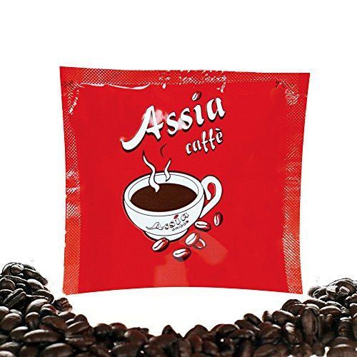 ESE Coffee Pod Red Espresso | Roasted in Italy | 50 x 7 g 51UeRCaYHRL