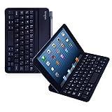 Sharon Ultradünnes Cover mit Chiclet - Tastatur für das Pad Mini 3 iPad Mini 2 iPad Mini | Mit magnetischem Scharnier, IQ-RKS - Layout, Deutsch