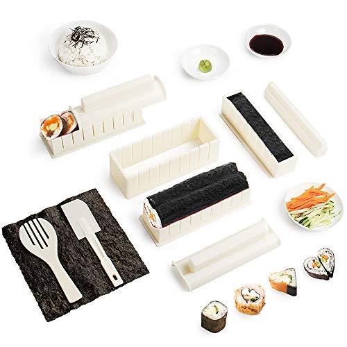 Sushi Maker Kit 10 PCS Moules à Sushi Cuisine...