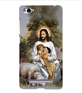 ColourCraft Lord Jesus Back Case Cover for XIAOMI MI 4I