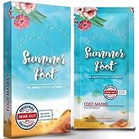 Summer Foot mascarilla exfoliación de pies, elimina callos, cutículas y piel muerta, exfoliante e hidratante, máscara peel off, calcetines exfoliantes de pies, foot peeling mask, peeling pies