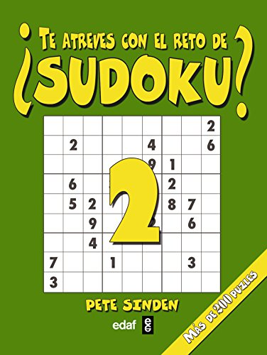 ¿Te atreves con el reto de sudoku?/ Do you Dare with the Sudoku Challenge?: 2