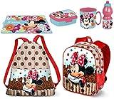 Minnie Disney Muffin Pallietes in 3D zainetto Zaino