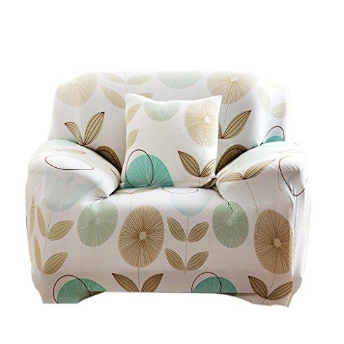 Funda de Asiento Cubierta de Sofá Sillón Protector Muebles Elástico Lavable Decoración - 11