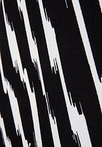 la fée maraboutée - Robe - Crayon - Manches 3/4 - Femme noir/blanc
