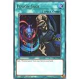 Best single card Card Yugiohs - YuGiOh : LCKC-EN089 1st Ed Fusion Sage Ultra Review