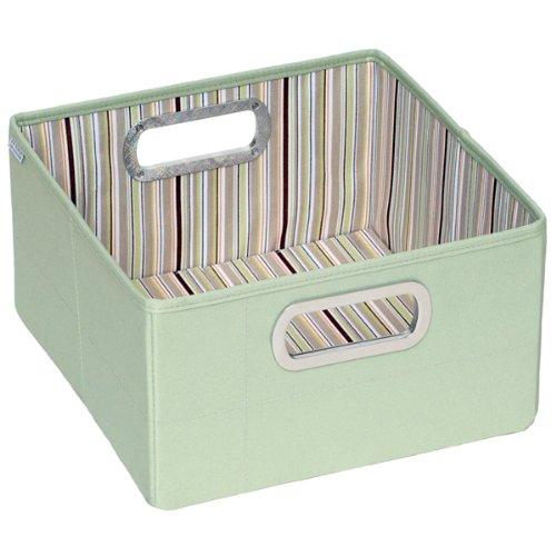 JJ Cole JDSCS/DSCS - Aufbewahrung klein Storage Box 16 x 28 x 28 cm, braun gestreift
