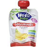 Hero Baby Bolsita Yogurines Plátano - 80 gr - [Pack de 18]
