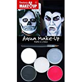 Kreul 37085 - Fantasy Aqua Make Up Picture Pack Dracula / Tod