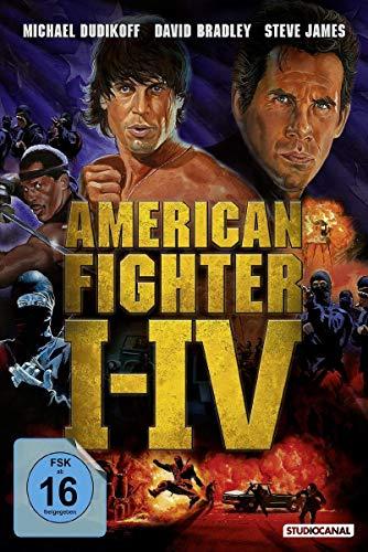 American Fighter I-IV [4 DVDs]