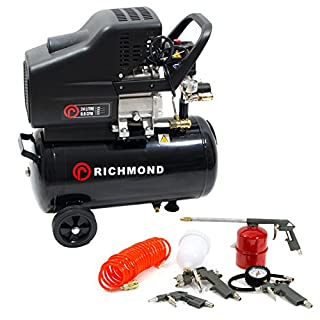 ParkerBrand 24 Litre Air Compressor & Tool Kit - 9.6 CFM, 2.5 HP, 24L