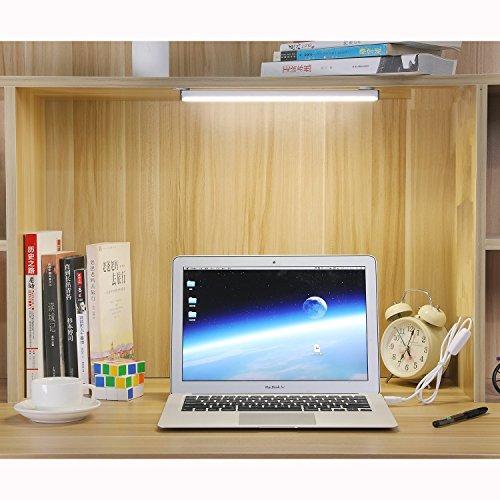 Ändern Der Tabelle Schubladen (CEINTER 5W Dimmbare LED Leiste LED Buch Licht Berühren Kontroll Licht 22 LEDs USB Wiederaufladbar Licht 3M Aufkleber Metall magnetische für Kabinett Licht)