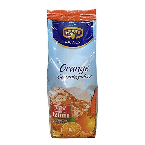 Krüger Orange Getränkepulver automatengerecht (1 kg Beutel)