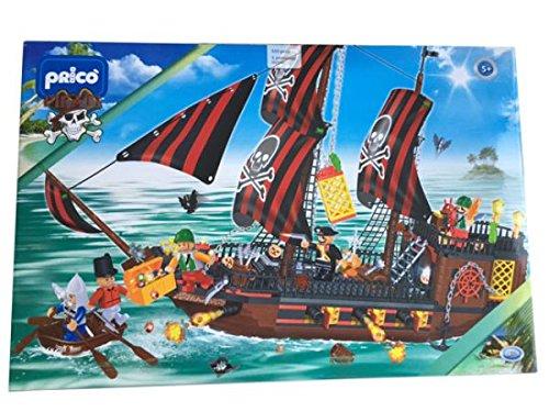 Pricò - pirati galeone 850 pezzi