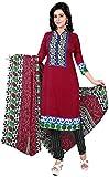 Manmauj Women's Cotton Unstitched Dress ...