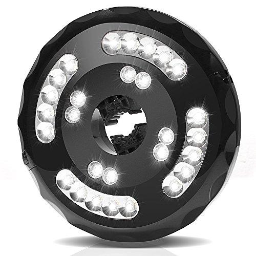Ombrello Luci per Esterno Illuminazione Giardino Wireless con 28 Lampadine LED, Lampade da Esterno con 2 Modalità, Cavo USB, Impermeabile Perfetto per Giardino, Esterni, Campeggio, Tende