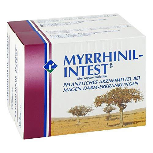 MYRRHINIL-INTEST, 200 St. überzogene Tabletten - Gluten-freie Öle