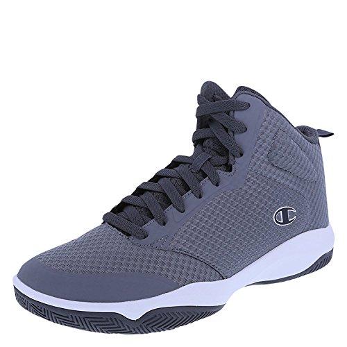 Champion Mens Inferno Basketball Shoe Grey