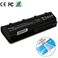 Batteriol HP MU06 Notebook Laptop Battery for 593553-001 593554-001 Pavilion G4 G6 MU09 593562-001 DV6 DV7 CQ42 CQ56 CQ57 CQ62, 6 Cells 10.8V 4400mAh Replacement Battery