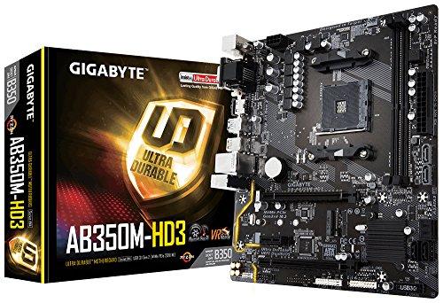 GIGABYTE GA-AB350M-HD3 - Gigabyte Motherboard Lga