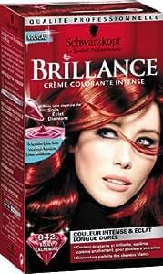 Schwarzkopf Brillance - Coloration Permanente - Rouge Cachemire 842