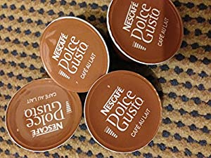 Purchase Dolce gusto cafe au lait 50 X Loose Pod Mix from Nescafe