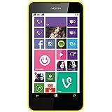 Nokia Lumia 630 Dual-SIM Smartphone (4.5 pouces ) Écran tactile, Appareil photo 5 mégapixels, Snapdragon 400, 1,2GHz Quad-Core, Windows Phone 8.1) Jaune