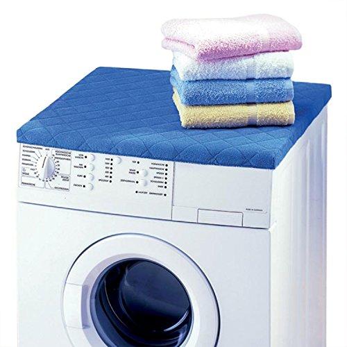 Betz Revêtement pour lave-linge taille 60 x 60 cm couleur blanc