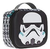 LEGO Vesperdose Thermo 3D Lunchbox Brotdose Brotzeitbox für Jungen Star Wars Stormtrooper + 0,3 L Trinkflasche CO2