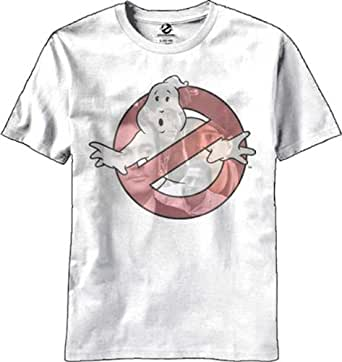 Mens Ghostbusters Faces T Shirt White White Large