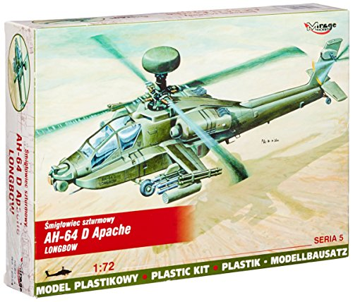 Mirage Hobby 72054 - Mc Donnell Douglas AH-64 D Apache Longbow, Flugzeug