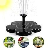 Woopus Solar Springbrunnen, Solar Teichpumpe Outdoor Wasserpumpe mit 1.4W...