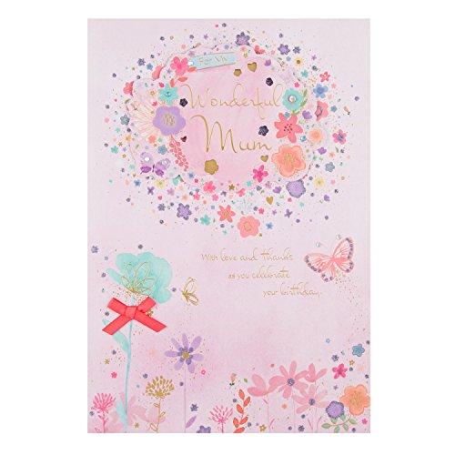 """Hallmark Geburtstagskarte für Mama """"Lots of Love"""", mittelgroß, Large"""
