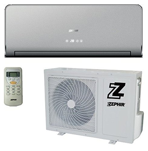Zephir ZXP12000G Condizionatore 12000 Btu, Oro, Set di 2 Pezzi