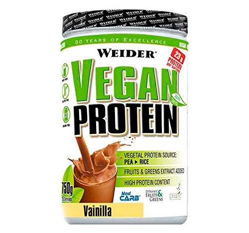 Weider Proteine Vegane, Sapore Cappuccino Freddo - 750 Gr