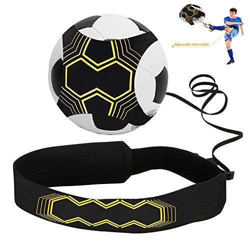 Mincome Calcio Allenamento col Pallone, Calcio Trainer Attrezzatura per Bambini, Kit per l\'Allenamento per Palla
