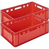 2Stk Metzger Cajas Caja de carnicero metzgerei Equipamiento E260x 40x 20invitados Lando